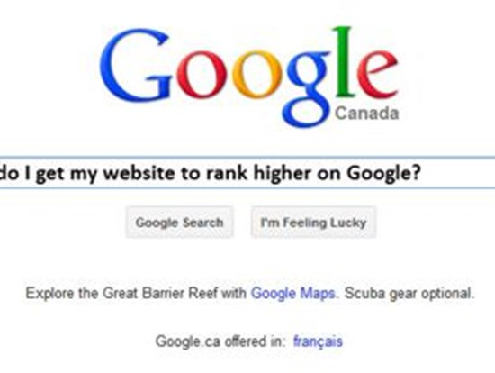 how to google search my website