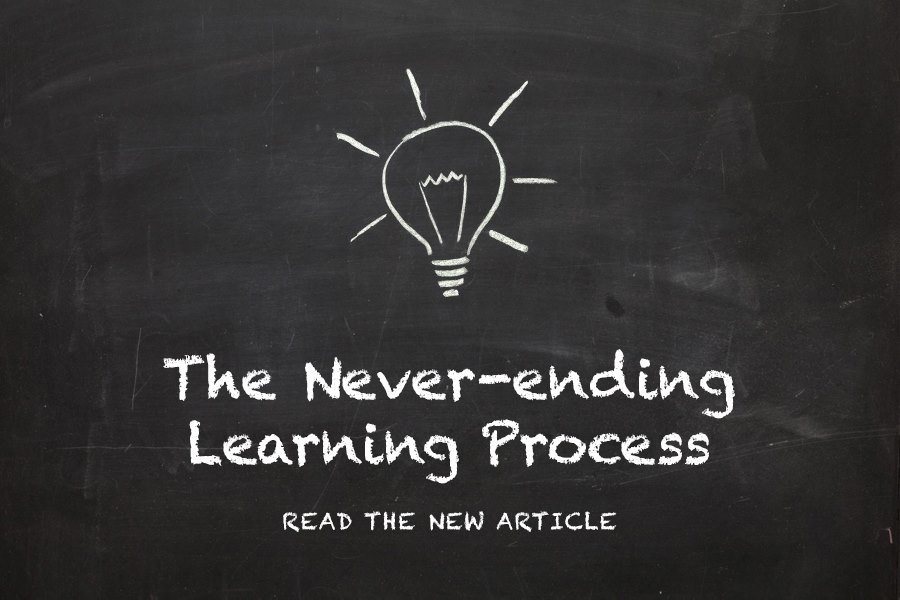 The Never-ending Learning Process
