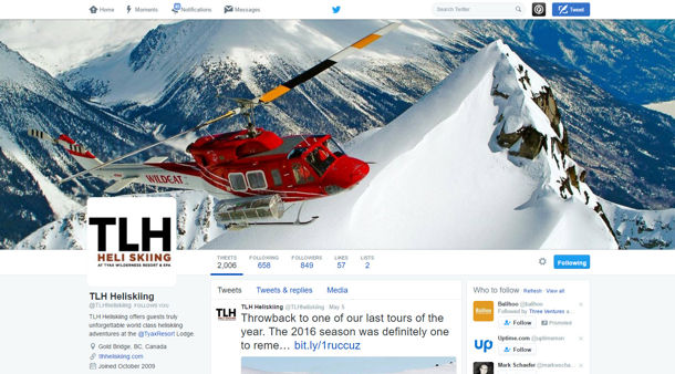 HeliSkiing Website Design & Marketing