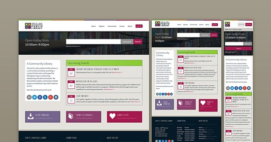 Designing a Responsive Website for a Library