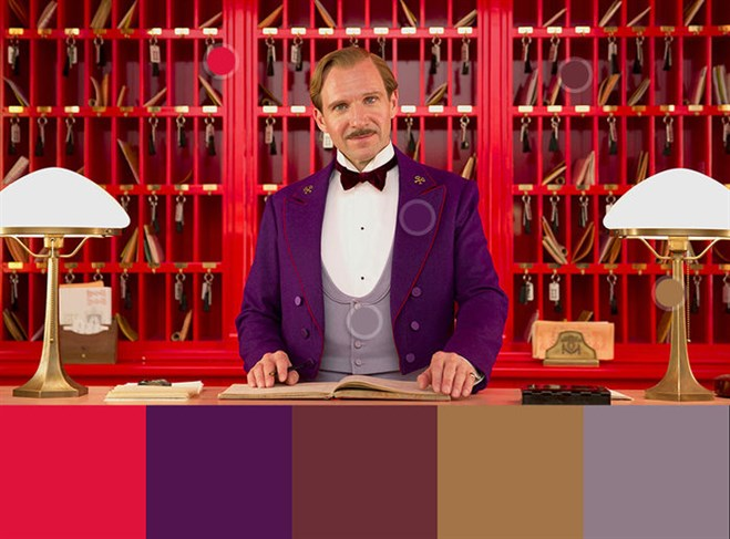 Colour In Film: The Grand Budapest Hotel