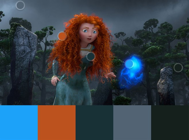 Colour In Film: Brave
