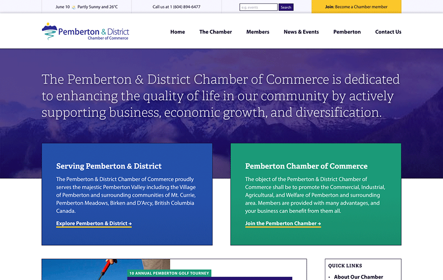 Pemberton Chamber of Commerce