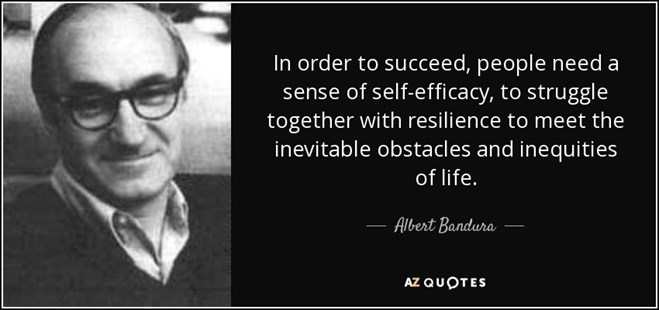 Albert Bandura and Confidence