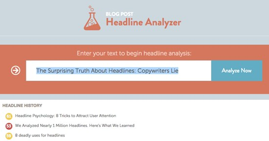 The Surprising Truth About Headlines: Copywriters Lie