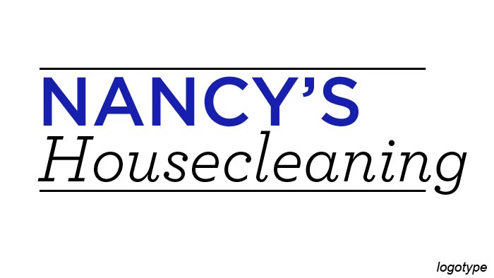 Nancy's Cleaning Logotype