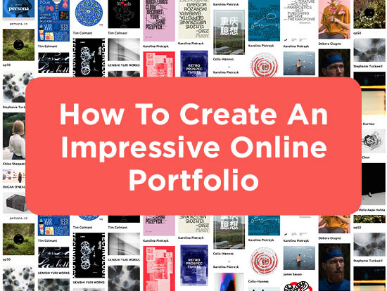 4 Steps to Get Started Creating Your Online Design Portfolio