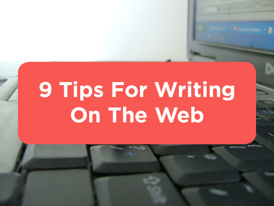 Web Writing Tips - Title