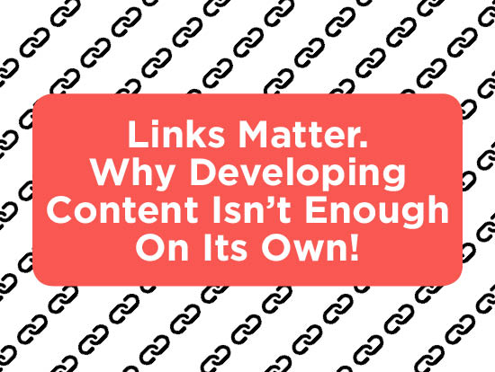 Links Matter. Developing Web Content title