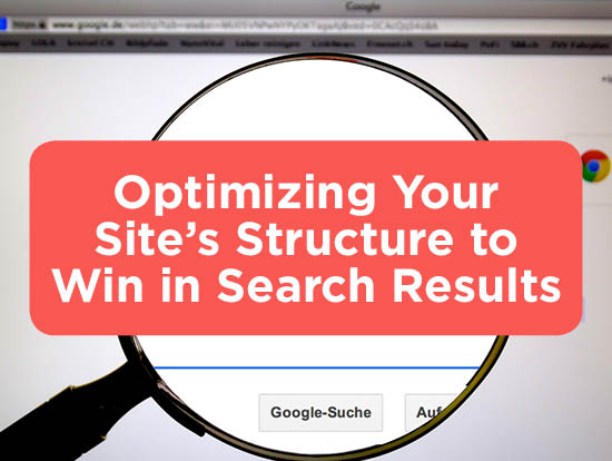 Optimize Website Structure for Search Results