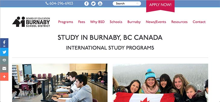Study In Burnaby
