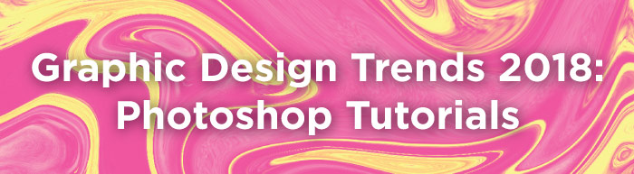 design trends photoshop tutorials