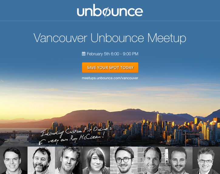 Vancouver Unbounce Meetup February 2014