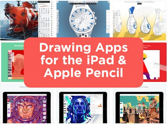 6 Free Drawing Apps for iPad & Apple Pencil