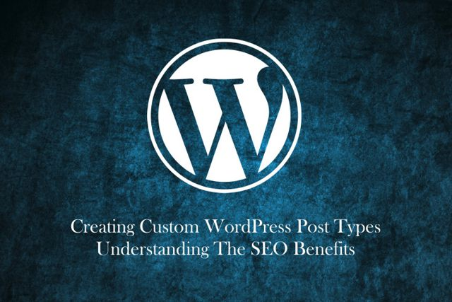 Create Custom WordPress Post Types