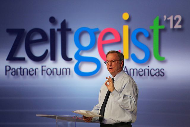 Eric Schmidt Google Antitrust