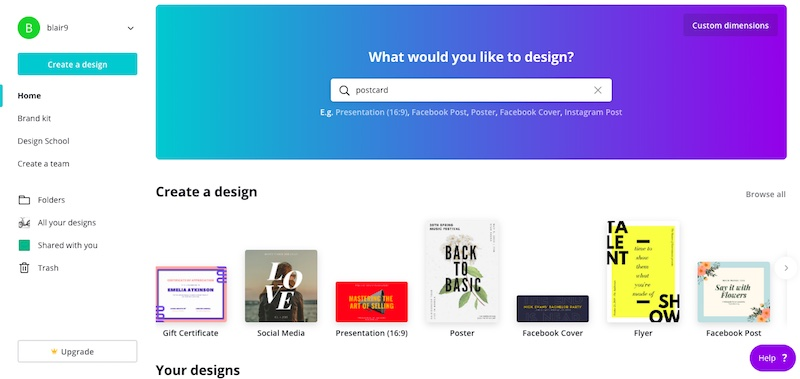 5 Free Marketing Tools - Canva Graphic Design
