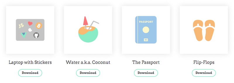 Free Icons Digital Nomad