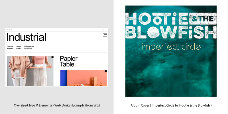 Album Covers & Web Design Trends