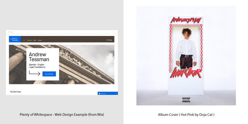 Album Covers & Web Design Trends - 3