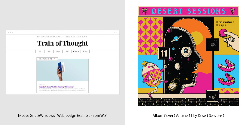 Album Covers & Web Design Trends - 4