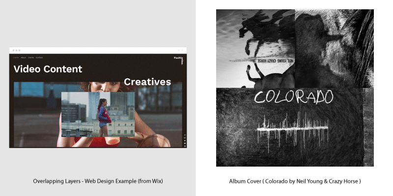 Album Covers & Web Design Trends - 5