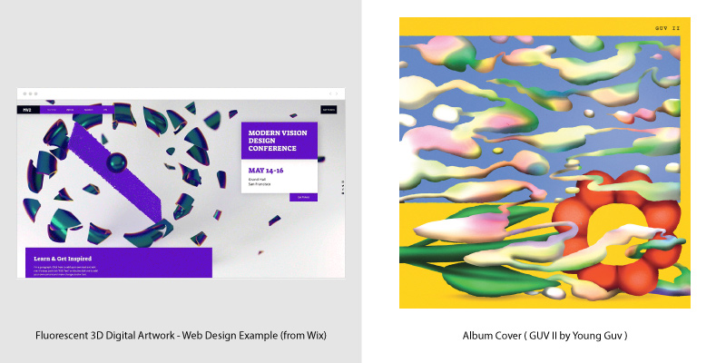 Album Covers & Web Design Trends - 6