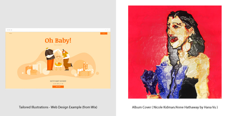 Album Covers & Web Design Trends - 7