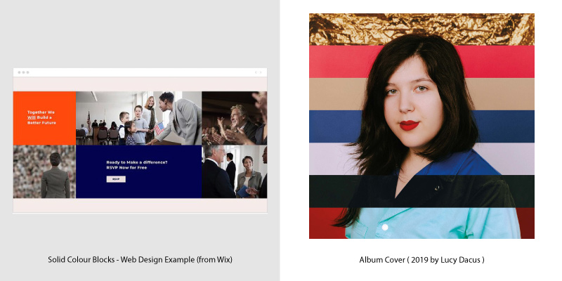 Album Covers & Web Design Trends - 9