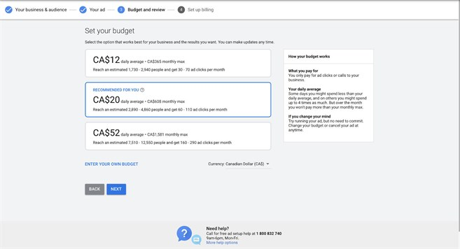 Google Ads 09 Set Budgets