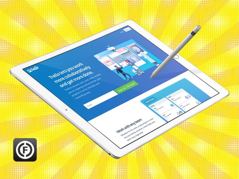 Design Apps for iPad and Apple Pencil