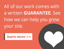 Our Web Work Guarantee