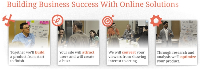 Build, Attract, Convert, Optimize